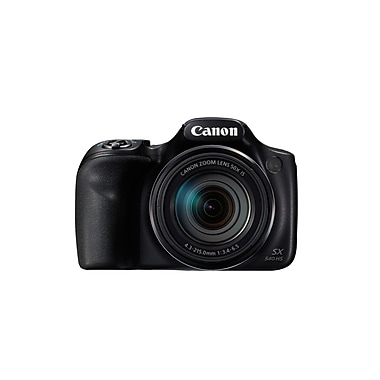 Canon PowerShot SX540 HS Digital Camera, 20.3 MP, 50x Optical Zoom, Black