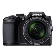 "Nikon COOLPIX B500 Compact Digital Camera, 16 MP, 40x Optical Zoom, 3.0"" LCD, 1080P, Wi-Fi, NFC, Bluetooth"