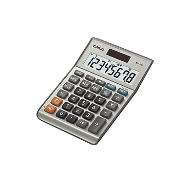CASIO® - Calculatrice de table portable MS-80B avec gros affichage