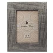 "Lawrence Frames 5"" x  7"" Weathered Gray Halloway Picture Frame (245257)"