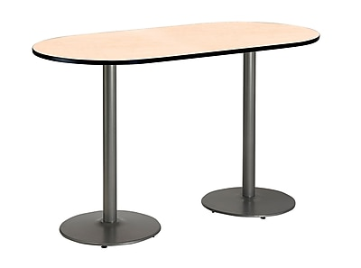 KFI Seating 72'' Oval Conference Table, Natural (T3072RB197SNA38)