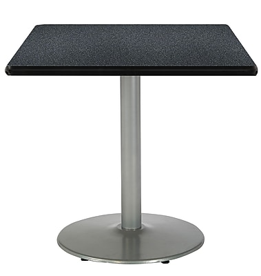 "KFI 42"" Square HPL Table Graphite Nebula (T42SQB1922SLGRN)"