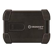 IronKey DataLocker 2TB USB 3.0 External Hard Drive, Black (MXKB1B002T5001-B)