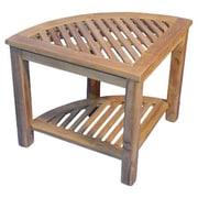 Regal Teak Corner End Table