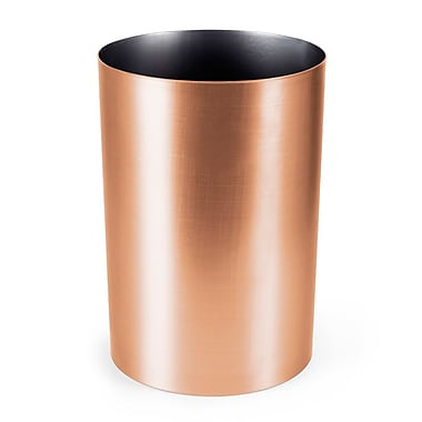 Umbra Metalla Waste Can, Copper