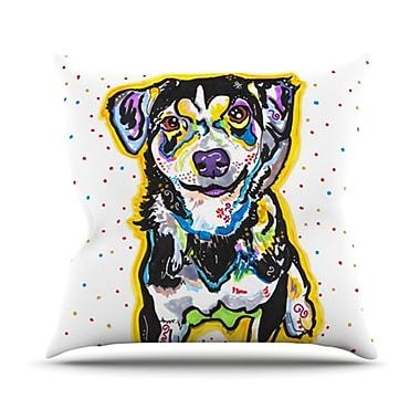 KESS InHouse Jasper Outdoor Throw Pillow