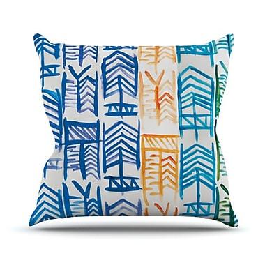 KESS InHouse Quiver II Outdoor Throw Pillow