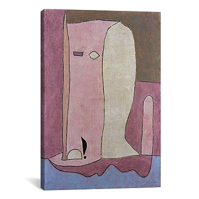 iCanvas 'Garden Figure' by Paul Klee Painting Print on Canvas; 40'' H x 26'' W x 0.75'' D