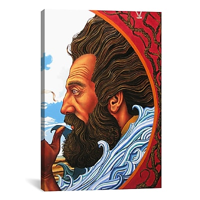 iCanvas Christian John the Baptist Painting Print on Canvas; 26'' H x 18'' W x 1.5'' D