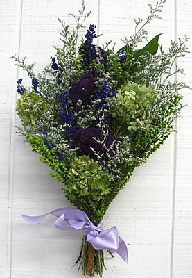 From the Garden Basil and Lavender Bouquet