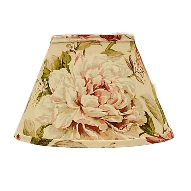 AHS Lighting 10'' Linen Empire Lamp Shade