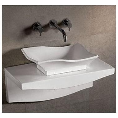 Whitehaus Collection Isabella 30.25'' Wall Mount Bathroom Sink w/ Overflow
