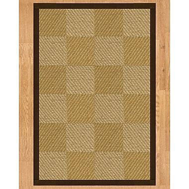 Natural Area Rugs Phantom Hand Crafted Fudge Area Rug; Runner 2'6'' x 8'