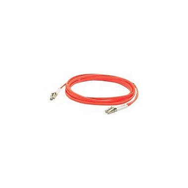AddOn® ADD-LC-LC-3M6MMF 3 m LC to LC Male/Male OM1 Duplex Fiber Optic Patch Cable, Orange