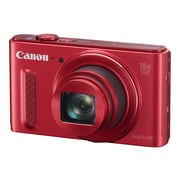 Canon PowerShot SX610 HS 20.2 MP Compact Digital Camera, 18x Optical Zoom, 4.5 - 81 mm Focal Length, Red