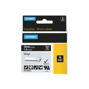 "Dymo® 0.94"" x 18.04' Thermal Transfer ""General ID"" Color Coded Label, White/Black (1805432)"