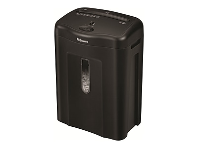 Fellowes® 11C 4.75 gal Cross-Cut Shredder, Black (4350001)
