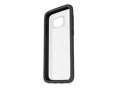 Otter Box 77-53137 Symmetry Synthetic Rubber/Polycarbonate Clear Protective Case for Galaxy S7, Black Crystal