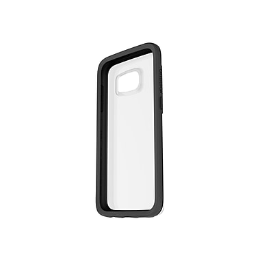 Otter Box® 77-53137 Symmetry Synthetic Rubber/Polycarbonate Clear Protective Case for Galaxy S7, Black Crystal