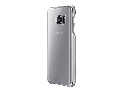 Samsung EF-QG930CSEGUS Hard Plastic Protective Cover for Galaxy S7, Clear Silver