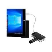 SIIG® SuperSpeed USB 3.0 Male/Female LAN Hub, Black/White (JU-H30112-S1)