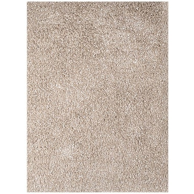 AMER Rugs Peacock Champagne Area Rug; Rectangle 5' x 7'6''