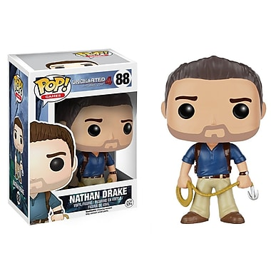 Funko Pop! Jeux : Uncharted – Nathan Drake