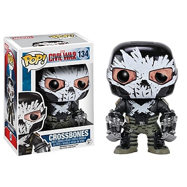 Funko Pop! Marvel : Capitaine America 3 - Crossbones