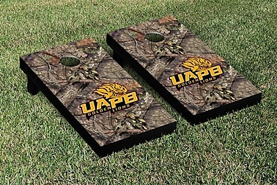 Victory Tailgate NCAA Mossy Oak Version Cornhole Game Set; Arkansas Pine Bluff Golden Lions WYF078278633428
