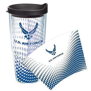 Tervis Tumbler Patriotic Air Force Logo Wrap Tumbler w/ Lid; 24 oz.
