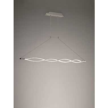 Contempo Lights Lattice 1-Light Pendant Lamp
