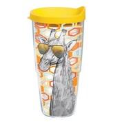 Tervis Tumbler On Trend Giraffe Plastic Travel Tumbler; 24 oz.