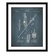 ReplayPhotos 1884 Fishing Rod Patent Framed Graphic Art