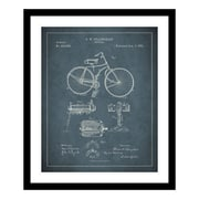 ReplayPhotos 1891 Bicycle Patent Framed Graphic Art