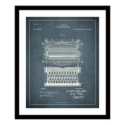 ReplayPhotos 1896 Typewriter Patent Framed Graphic Art