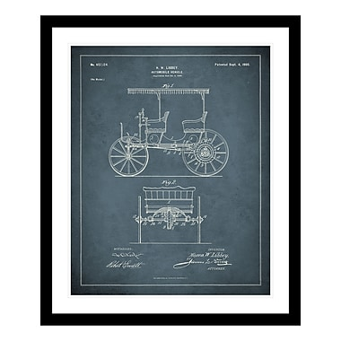 ReplayPhotos 1900 Automobile Patent Framed Graphic Art
