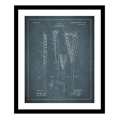 ReplayPhotos 1908 Lacrosse Patent Framed Graphic Art