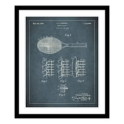 ReplayPhotos 1929 Tennis Racket Patent Framed Graphic Art