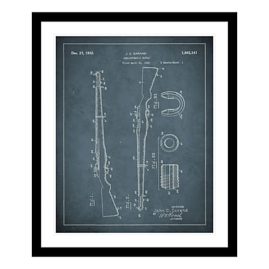ReplayPhotos 1932 Rifle Patent Framed Graphic Art