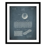 ReplayPhotos 1935 Tennis Ball Patent Framed Graphic Art