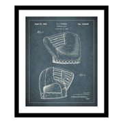 ReplayPhotos 1945 Baseball Mitt Patent Framed Graphic Art