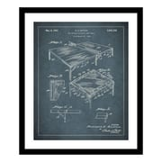 ReplayPhotos 1952 Ping Pong Table Patent Framed Graphic Art
