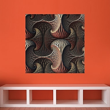 My Wonderful Walls Fractal Wall Decal; Large