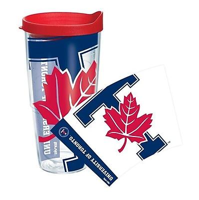 Tervis Tumbler Collegiate Toronto Plastic Travel Tumbler; 24 oz.
