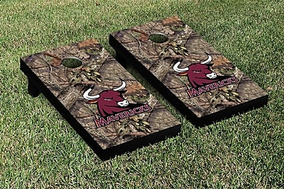 Victory Tailgate NCAA Mossy Oak Version Cornhole Game Set; Colorado Mesa Mavericks