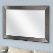 MCSIndustries Pewter Beveled Wall Mirror