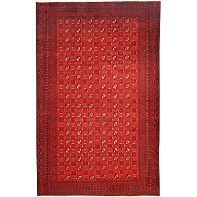 Herat Oriental Hand-Knotted Burgundy/Navy Area Rug