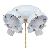 Royal Pacific 4-Light Fitter in White