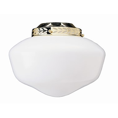 Concord Fans 4'' Glass Fan Bowl Shade