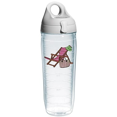 Tervis Tumbler Sun and Surf Beach Chair Water Bottle; Pink